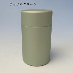 ミニ骨壷With(ウィズ)35 直径35mm×高60mm アップルグリーン【日本製】