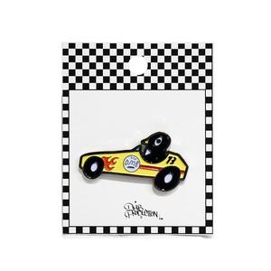 """DMB x DISKAH ピンバッヂ """"RACECAR"""""""