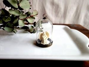 小さなインテリア■ガラスドーム■小さな天使たち Hope 希望