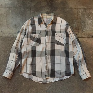 70s Heavy Flannel Shirt /USA