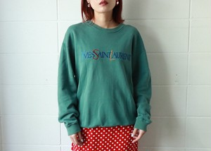 Yves Saint Laurent logo sweatshirt