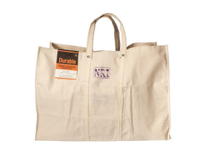 PUEBCO LABOUR TOTE BAG WHITE /L