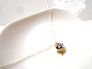 【受注生産】Necklace■animal rabbit 3■jemstone choice order