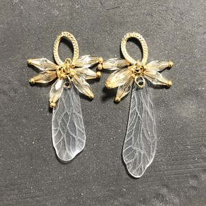 月に溢れる(earring or pierce)