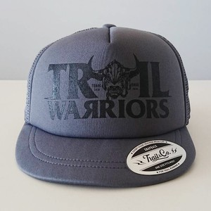 【販売終了】Short Visor Trucker Mesh Cap / TW / Gray / Gray / Black
