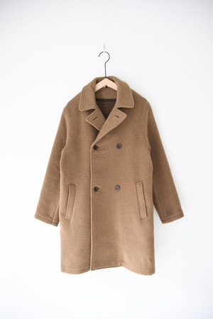 【ARMEN】DOUBLE FACE PEA COAT