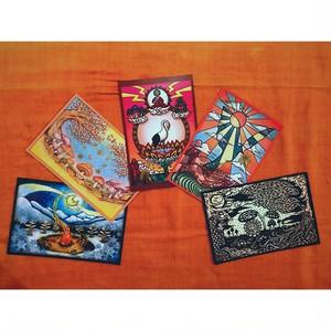 ポストカード5枚セット【No.02】