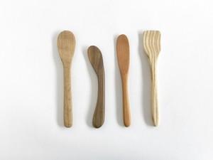 木工スプーン(4種)