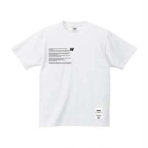 U2W TEE [WHITE]