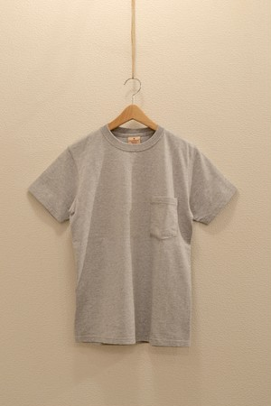 GOOD WEAR - Crew Neck Pocket T-Shirt (Oxford Gray)