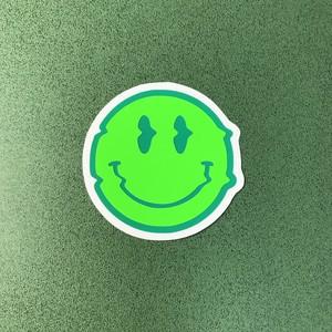 ACID SMILE ( 緑×蛍光グリーン )