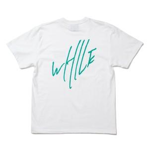 WHILE I REMEMBER Logo Tee - WHITE