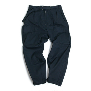 TUKI (ツキ) 【PILOT PANTS】 (GABARDINE MADE OF EGYPTIAN COTTON) パイロットパンツ