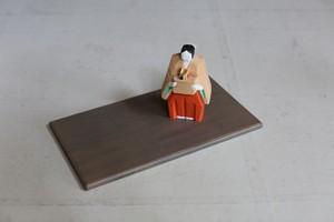 奈良一刀彫  浦弘園 「月こよみ」