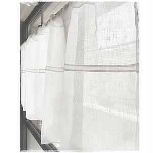 ♥リネンガーゼ*広幅デザインポケットカーテン【W186×H53,H58】 ♥現品限りセール中 !