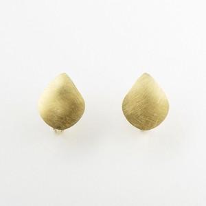Shiny drop earring