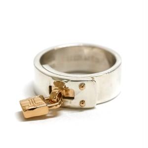Hermès Vintage Silver & 18k Gold Ring