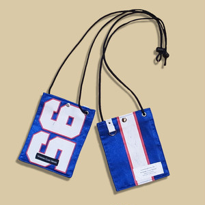 "WCH Remake NFL Game shirts Mobile Pouch -""95""/ Blue"