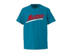 T-SHIRT M319105-TURQUOISE / Tシャツ ターコイズ TURQUOISE  / MARATHON JACKSON マラソン ジャクソン