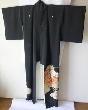 黒留袖001*裄65cm