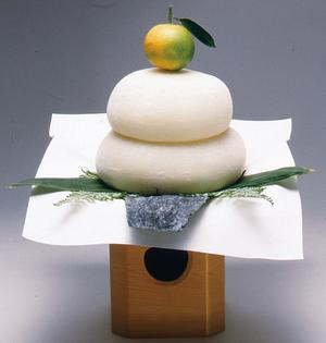 てづくり無添加 鏡餅2号/約9cm(360g)