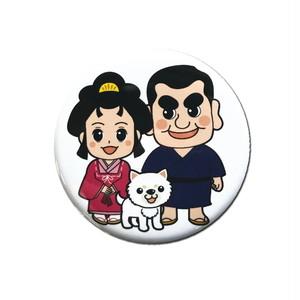指宿西郷どん&篤姫 缶バッチ