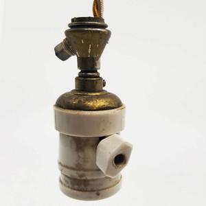 ガス管を使用したペンダントライト