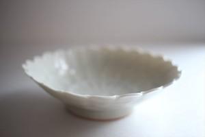 前田麻美|灰青釉菊鉢