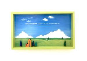 草原の画(レタスグリーン)