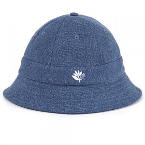 MAGENTA BUCKET HAT DENIM - BLUE