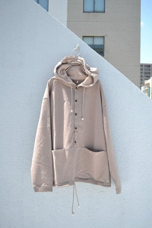 crepuscule / button p/o hoodie