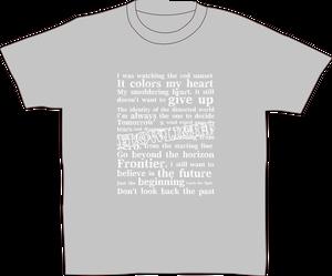 【beginning】ティシャツ(グレー)
