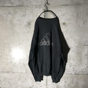 [adidas] back big logo designed sweat