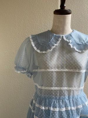 【Pre-oder】kids chiffon dress