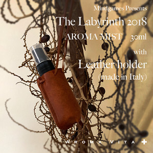 【残り僅か!】The Labyrinth 2018 Aroma Mist with Leather holder(made from pueblo)