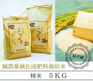 減農薬栽培 〈元年産〉南魚沼産コシヒカリ 精米5kg