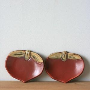 柿 小皿2枚