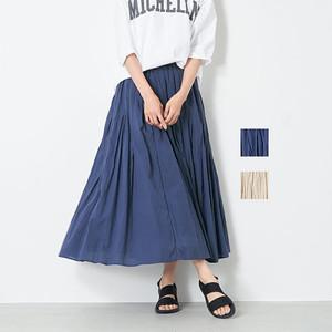 MICA&DEAL(マイカアンドディール) ウエストギャザーボリュームスカート  2021春物新作[送料無料]