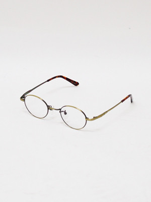 EGO TRIPPING (エゴトリッピング) BERNARD GLASSES / ANTIQUE GOLD 693056-96