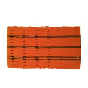 ヨルバの伝統布「アショ・オケ」の半巾帯23 / Yoruba Aso-oke Obi23