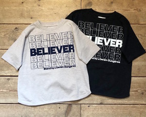 Denim Dungaree / (130・140) Believer Tee