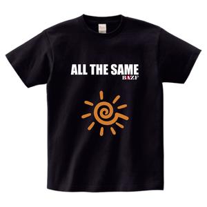 ALL THE SAME ヘビーウェイトTシャツ(黒)