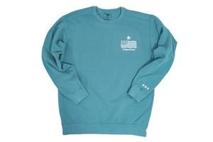 "11/14発売【""USA"" vintage star logo sweat】/ pastel green(3〜4週間後発送予定)"