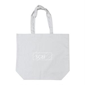 scar /////// OG LOGO REGULAR TOTE BAG / LARGE (Grey)