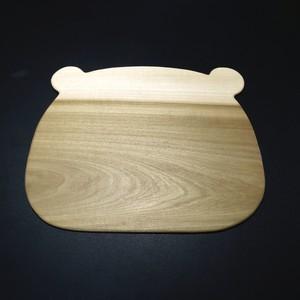 木製ランチョンマット(クマ)