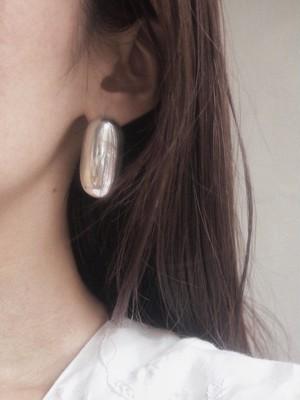 oval pool pierce / earring