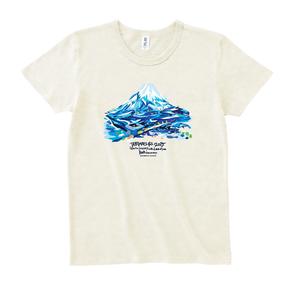 Tシャツ【旅祭 × 松田光一(世界遺産アーティスト)】富士山柄
