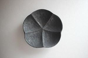 額賀円也|鉄釉梅豆皿