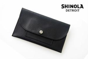 シャイノラ|shinola|ホーウィン社製レザー使用ポーチ|レザーケース|ブラック