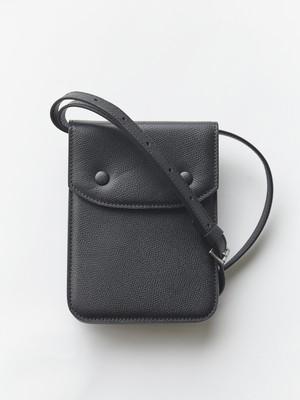 MAISON MARGIELA Leather Shoulder Bag Black S35WG0159